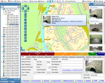 Customisable asset management software